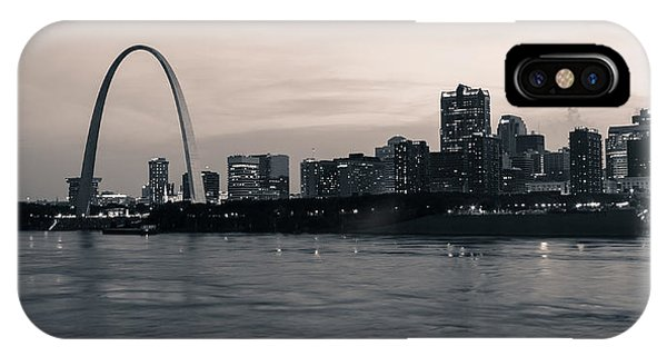 Downtown St. Louis In Twilight IPhone Case