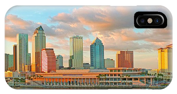 Downtown Tampa Skyline IPhone Case