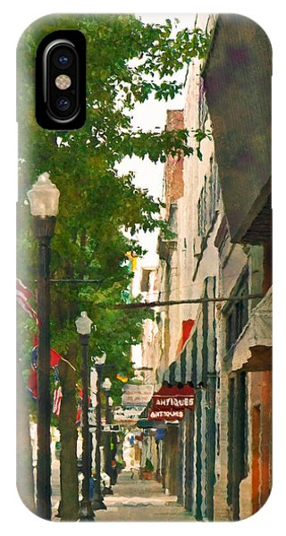 Downtown Usa IPhone Case