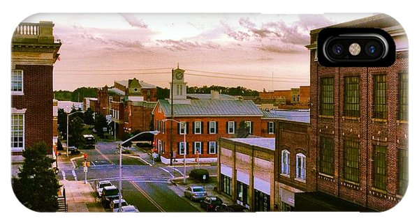 Downtown Washington Nc IPhone Case
