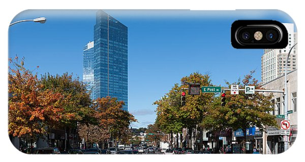 Downtown White Plains New York IIi IPhone Case