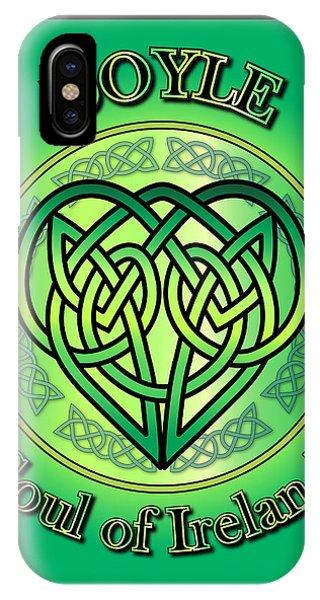 Doyle Soul Of Ireland IPhone Case