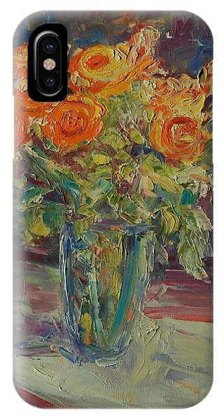Dozen Orange Roses IPhone Case