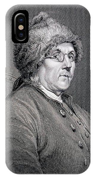 Dr Benjamin Franklin IPhone Case
