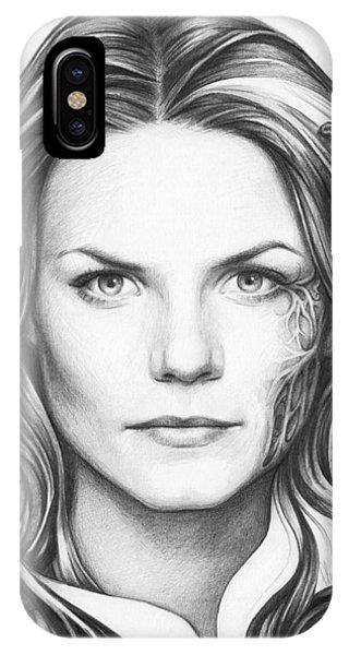 Graphite iPhone Case - Dr. Cameron - House Md by Olga Shvartsur
