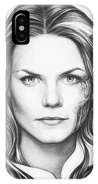 Doctor iPhone Case - Dr. Cameron - House Md by Olga Shvartsur