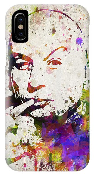 Famous People iPhone Case - Dr Evil In Color by Aged Pixel