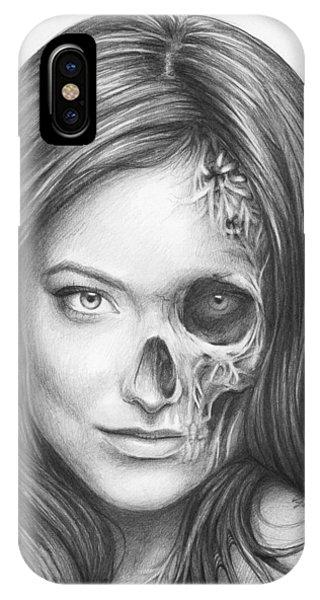 Illustration iPhone Case - Dr. Hadley Thirteen - House Md by Olga Shvartsur