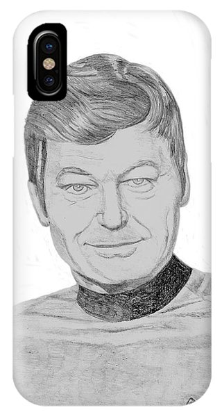 Dr. Leonard Mccoy IPhone Case