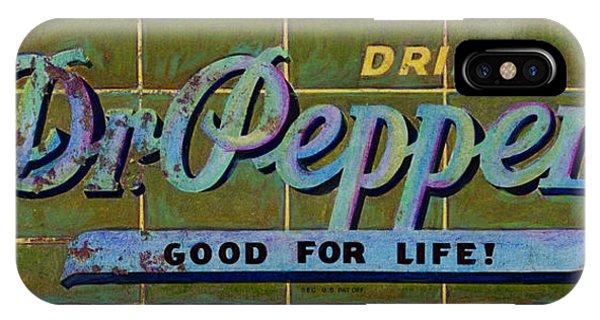 Dr Pepper IPhone Case
