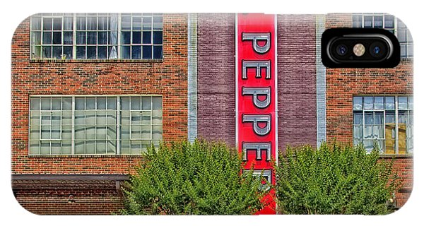 Window Shopping iPhone Case - Dr Pepper Place - Birmingham Alabama by Mountain Dreams
