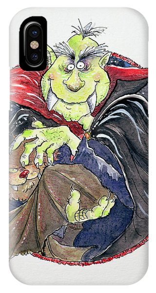 Dracula iPhone Case - Dracula by Maylee Christie