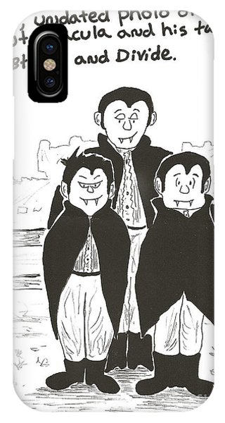 Dracula And Family IPhone Case