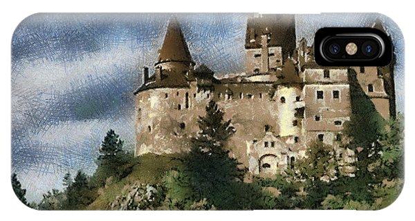 Dracula Castle Romania IPhone Case
