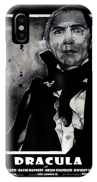 Dracula iPhone Case - Dracula Movie Poster 1931 by Sean Parnell