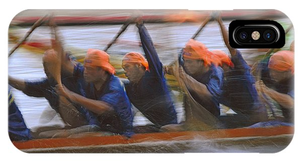 Dragon Boat Racing Thailand IPhone Case