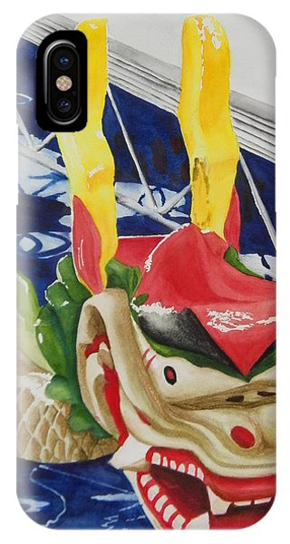 Dragon Boat IPhone Case