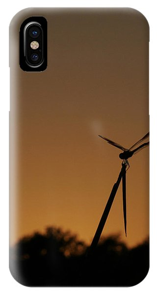 Dragon Fly Silhouette IPhone Case
