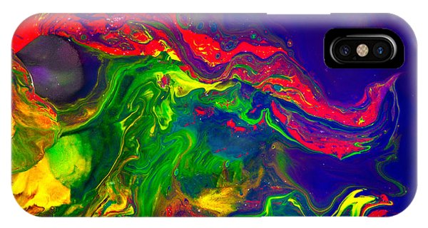 Dragon - Modern Abstract Painting IPhone Case