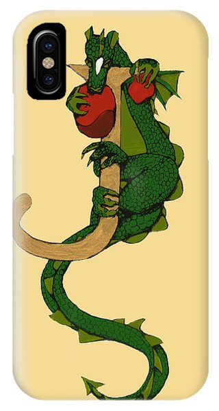Dragon Letter J IPhone Case