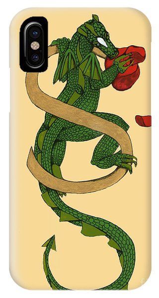 Dragon Letter S IPhone Case