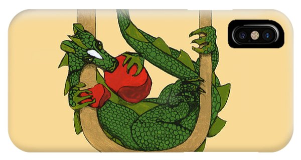 Dragon Letter U IPhone Case