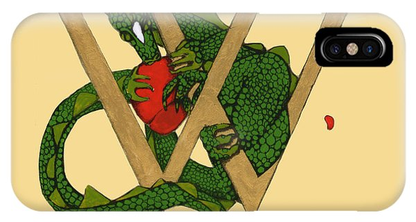 Dragon Letter W IPhone Case
