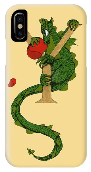 Dragon Letter Y IPhone Case