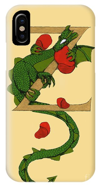 Dragon Letter Z IPhone Case
