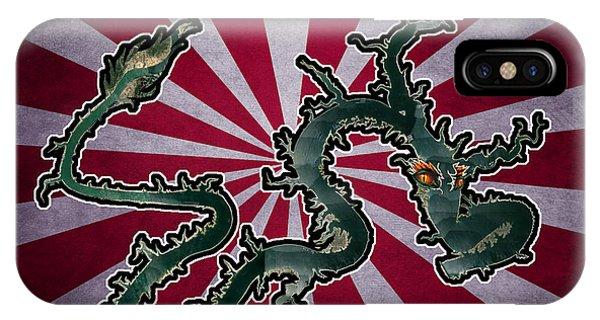 Dragon Of The Colorado IPhone Case