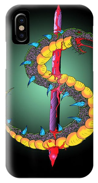 Dragon Spike One IPhone Case