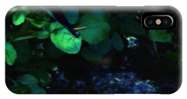 Dragonfly Daze IPhone Case