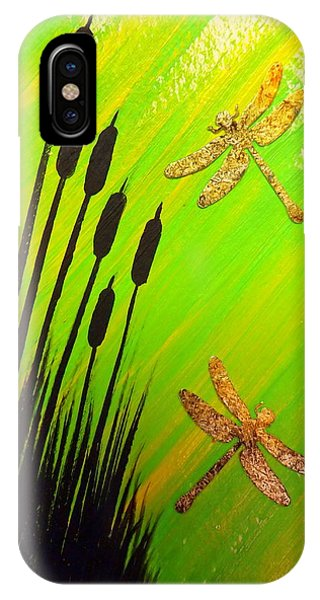 Dragonfly Dreams IPhone Case
