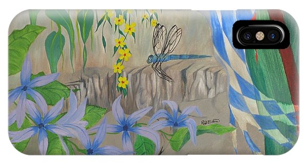 Dragonfly Dreams Phone Case by Richard Dotson
