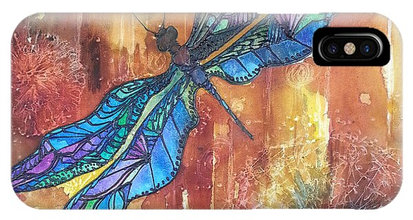 Dragonfly Rust IPhone Case