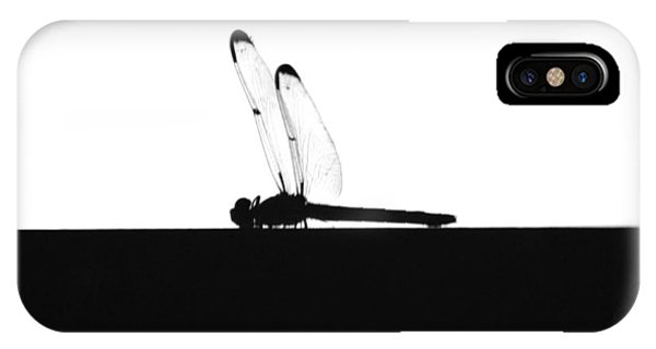 Dragonfly Silhouette IPhone Case