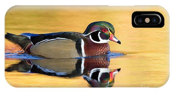 Drake Wood Duck Phone Case by Joshua Clark