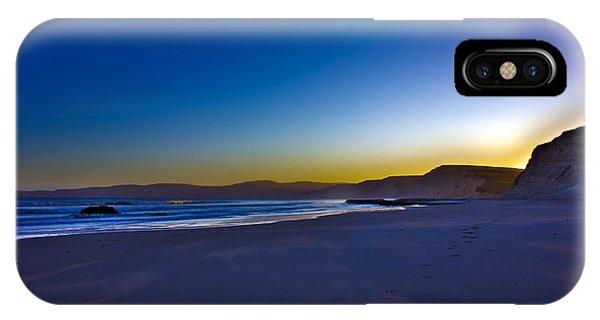Drake's Beach Hdr IPhone Case