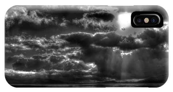 Drama In The Sky II IPhone Case