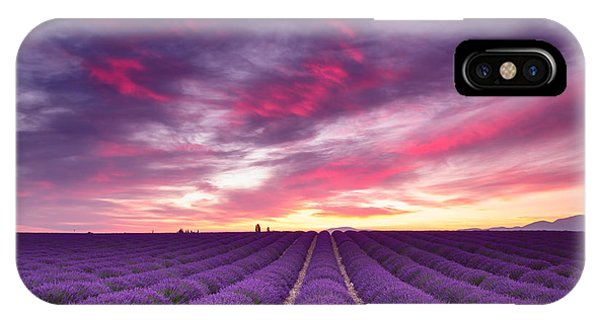 Drama In The Sky IPhone Case