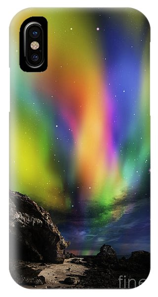 Dramatic Aurora IPhone Case