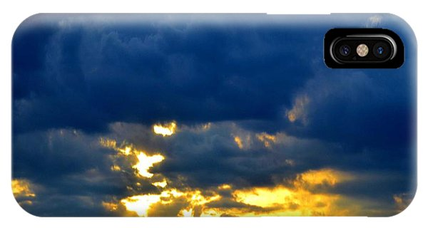 Dramatic Clouds IPhone Case