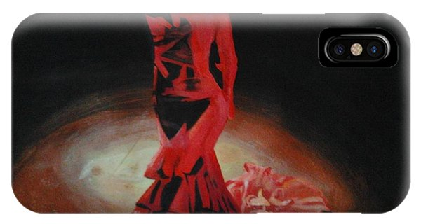 Dramatic In Scarlet IPhone Case