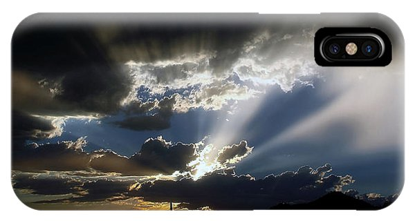Dramatic Monsoon Sunset IPhone Case