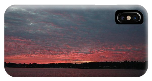 Dramatic Sunset IPhone Case