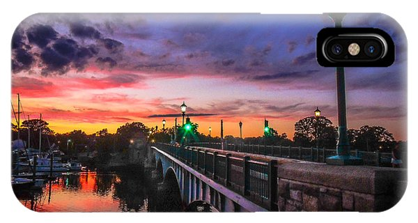 Drawbridge Sundown  IPhone Case