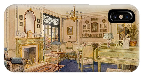 Interior iPhone Case - Drawing Room Adam Revival Style by Richard Goulburn Lovell