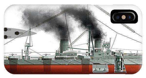 Dreadnought Battleship IPhone Case