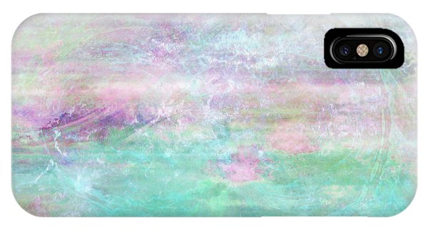 IPhone Case featuring the mixed media Dream - Abstract Art by Jaison Cianelli