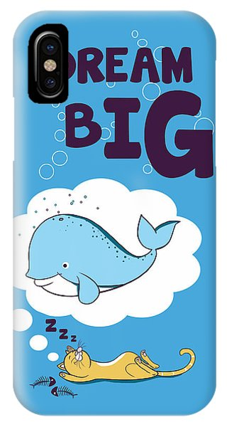 Thought iPhone Case - Dream Big by Neelanjana  Bandyopadhyay